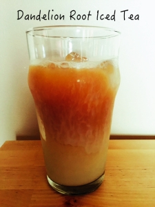 dandelion root iced tea_Fotor